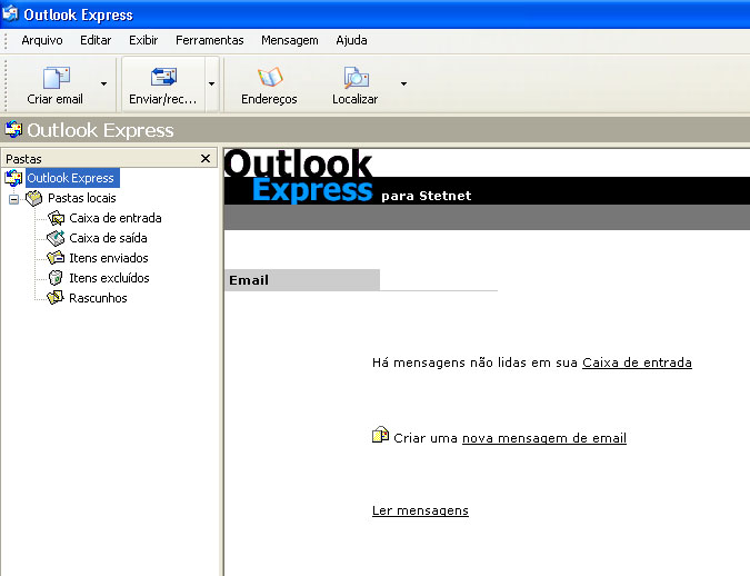 Configurar MS Outlook 10