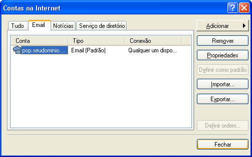 Configurar MS Outlook 2