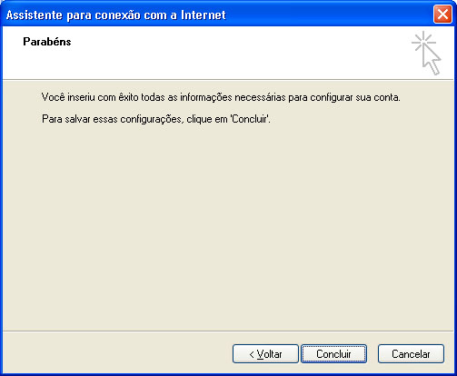 Configurar MS Outlook 7